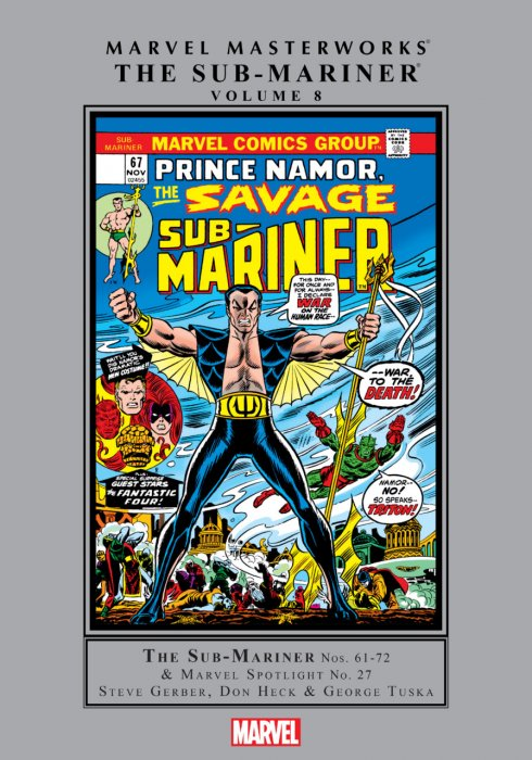 Marvel Masterworks Sub-Mariner Vol.8