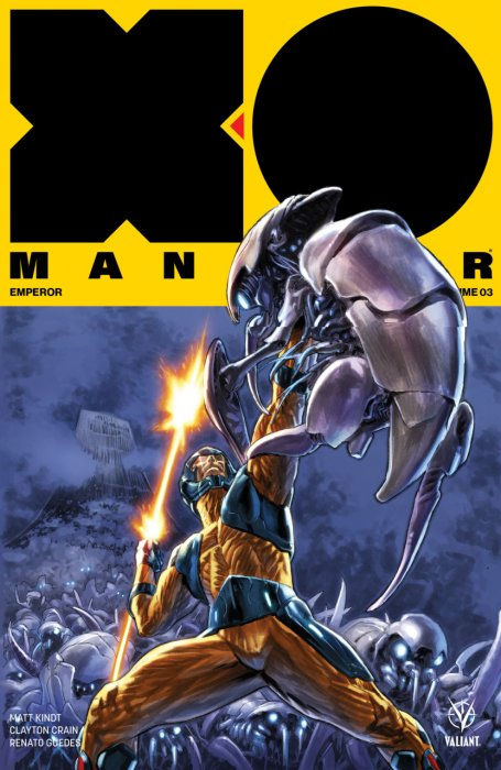 X-O Manowar Vol.3 - Emperor