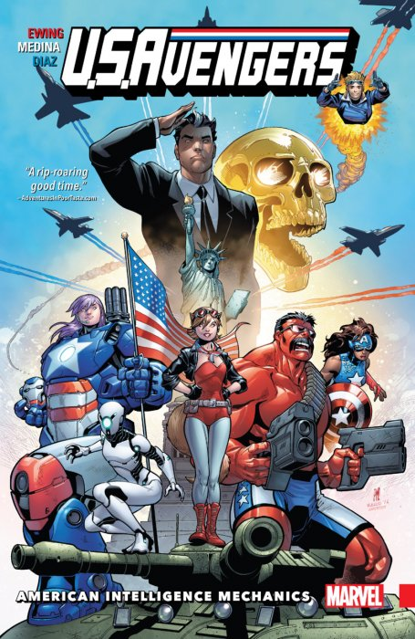 U.S.Avengers Vol.1 - American Intelligence Mechanics