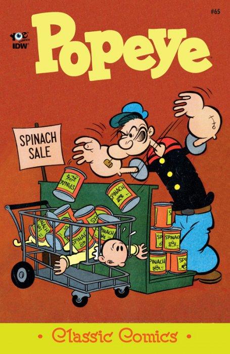 Classic Popeye #65