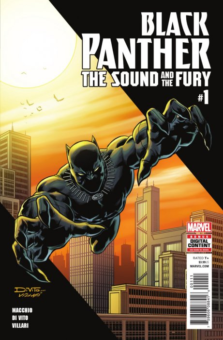 Black Panther - The Sound and the Fury #1