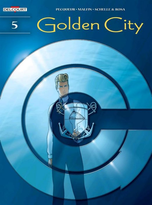 Golden City #5 - The Harrison File