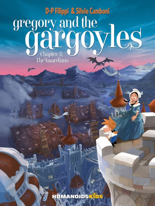 Gregory and the Gargoyles #3 - The Guardians