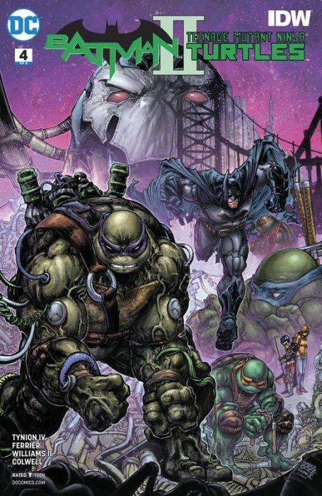 Batman - Teenage Mutant Ninja Turtles II #4
