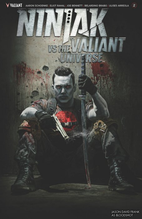 Ninjak vs. the Valiant Universe #2