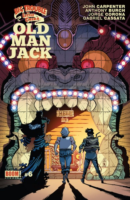 Big Trouble In Little China Old Man Jack #6