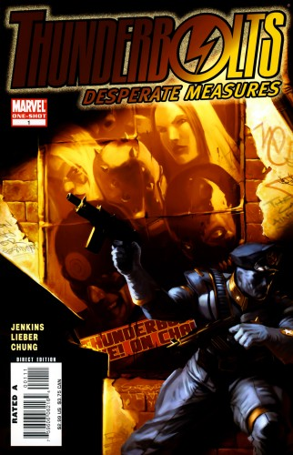 Thunderbolts - Desperate Measures #1