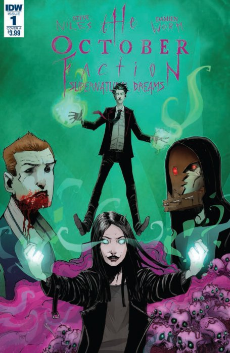 The October Faction - Supernatural Dreams #1
