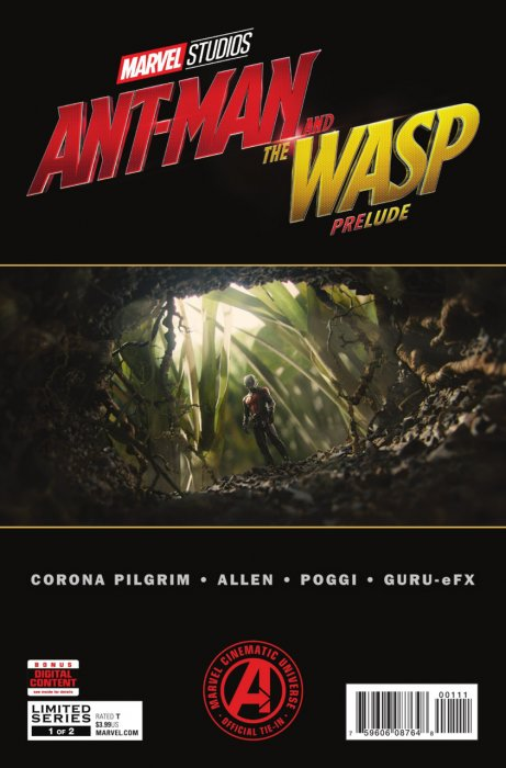 Marvel's Ant-Man and the Wasp Prelude #1