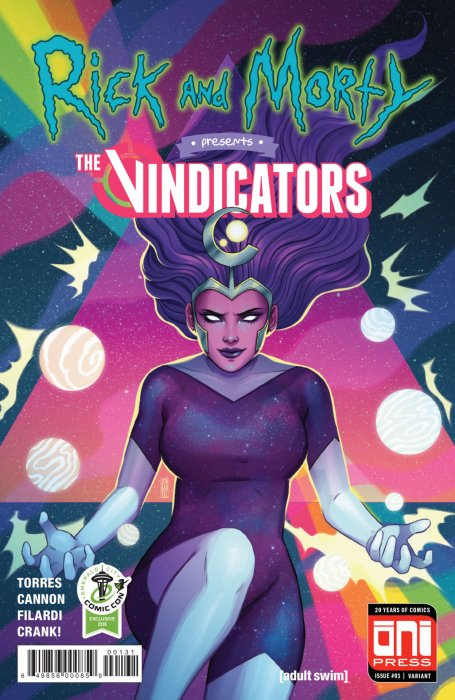 Rick and Morty Presents #1 - The Vindicators