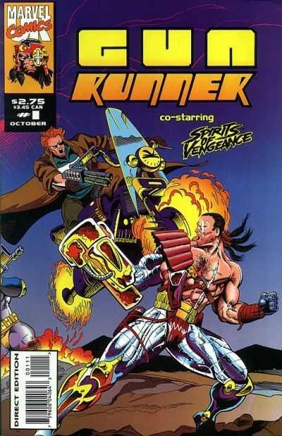 Gun Runner #01-06 (UK) Complete