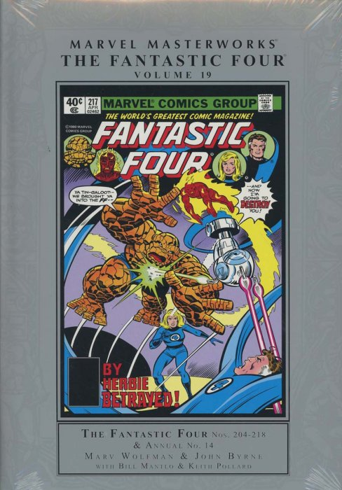 Marvel Masterworks - Fantastic Four Vol.19