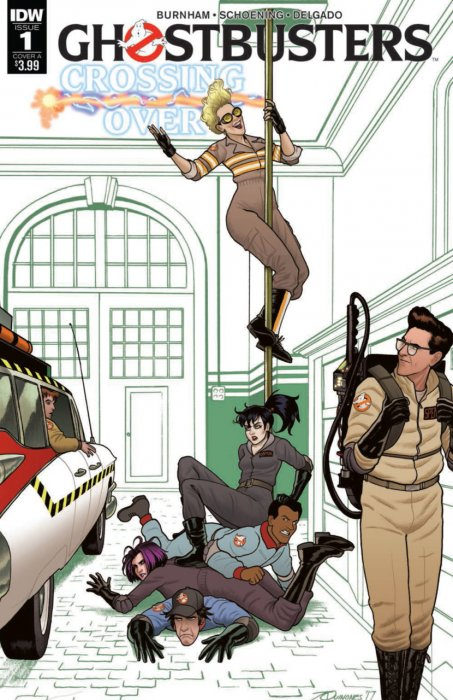 Ghostbusters - Crossing Over #1