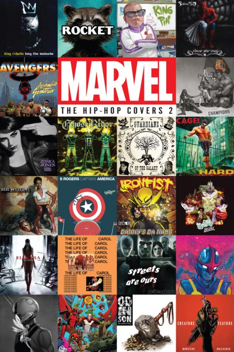 Marvel - The Hip-Hop Covers Vol.2