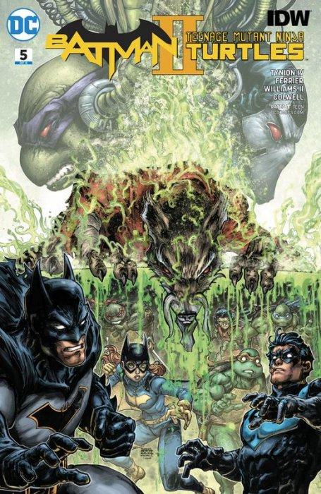 Batman - Teenage Mutant Ninja Turtles II #5