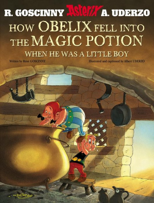 Asterix - How Obelix Fell into the Magic Potion #1