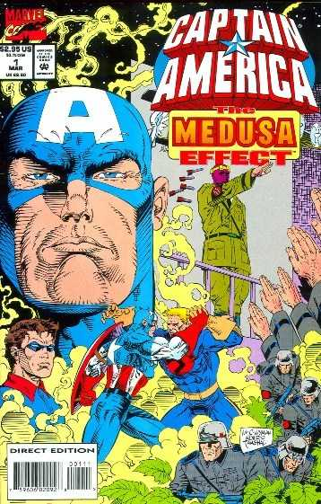 Captain America - Medusa Effect