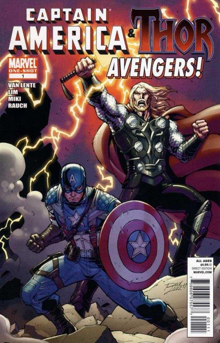 Captain America & Thor - Avengers #1
