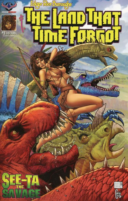 Edgar Rice Burroughs' The Land that Time Forgot, See-Ta the Savage #1