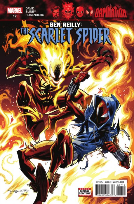 Ben Reilly - Scarlet Spider #17