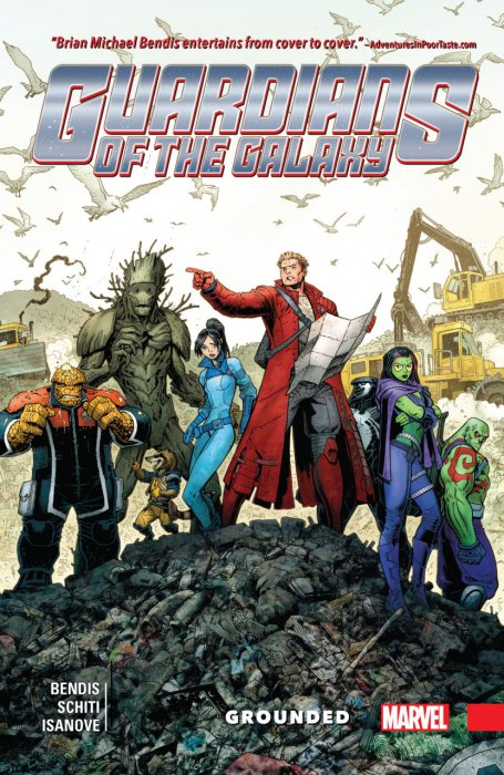 Guardians of the Galaxy - New Guard Vol.4 - Grounded