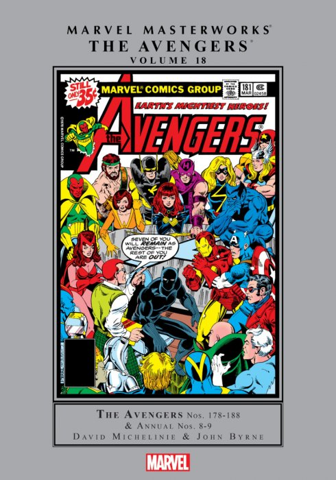 Marvel Masterworks - The Avengers Vol.18