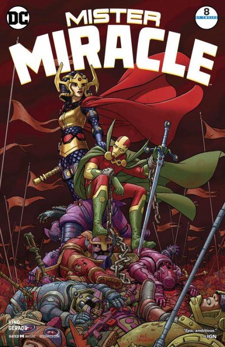 Mister Miracle #8