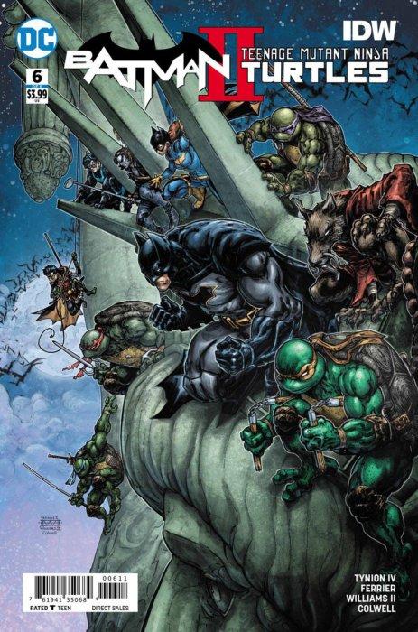 Batman - Teenage Mutant Ninja Turtles II #6