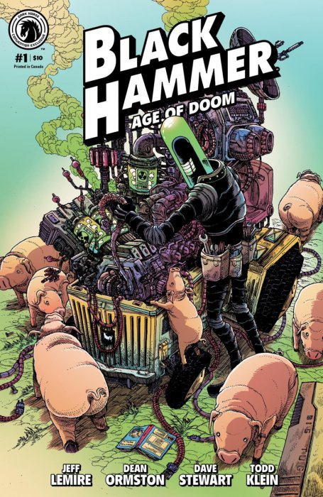 Black Hammer - Age of Doom #1
