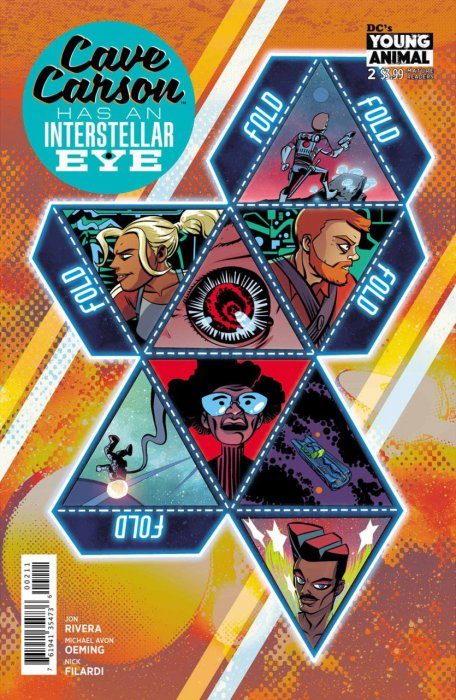 Cave Carson Has an Intersteller Eye #2