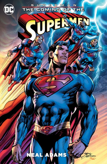 Superman - The Coming of the Supermen #1 - HC/TPB