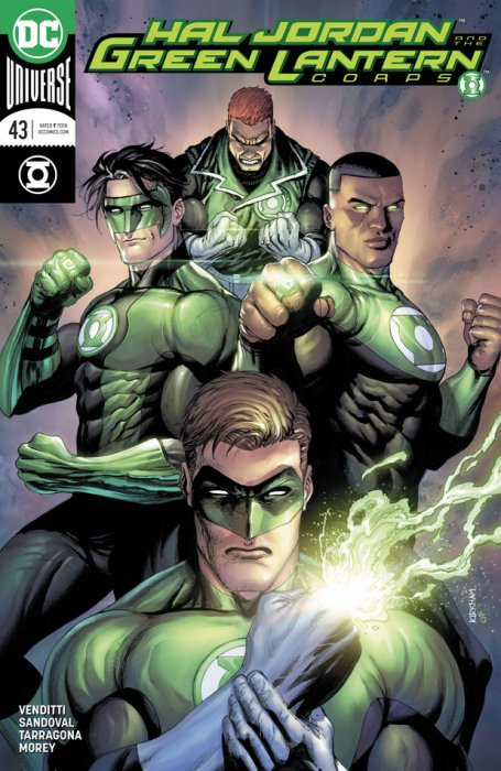 Hal Jordan and the Green Lantern Corps #43