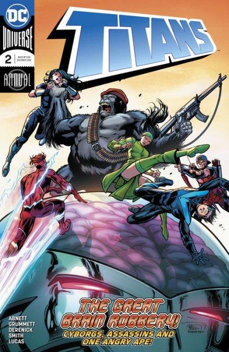 Titans Annual #2