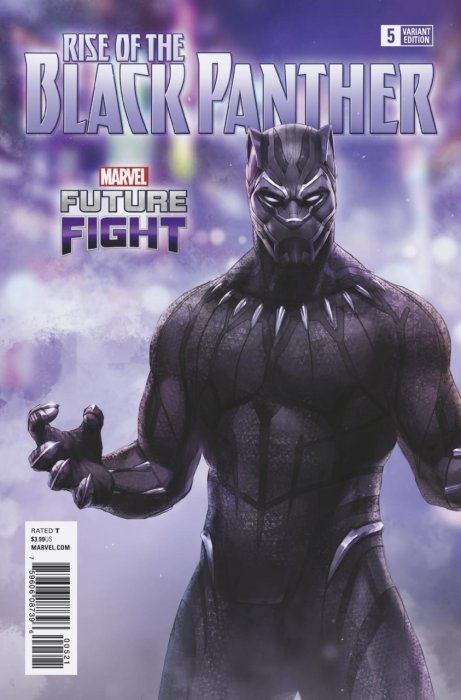 Rise of the Black Panther #5