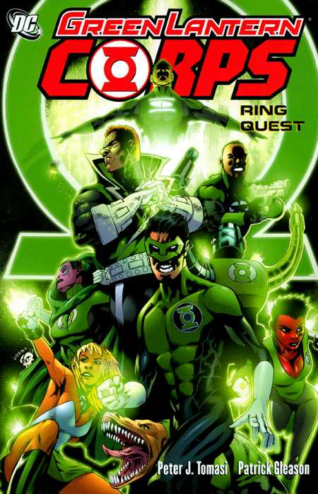 Green Lantern Corps - Ring Quest #1