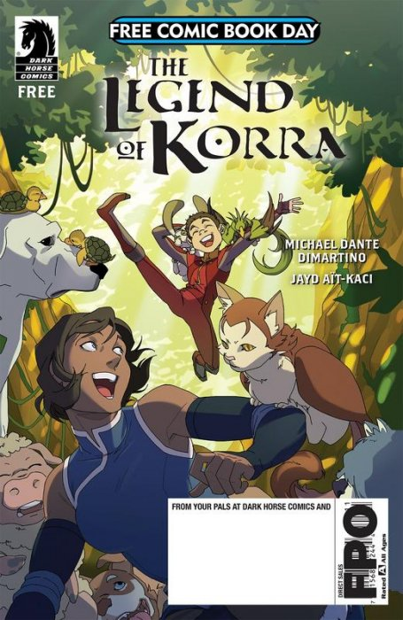 FCBD 2018 - Legend of Korra #1
