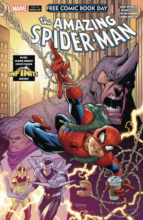Free Comic Book Day 2018 - Amazing Spider-Man - Guardians of the Galaxy #1