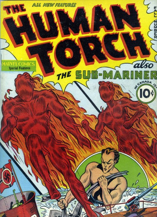Human Torch Comics #1-38 Complete