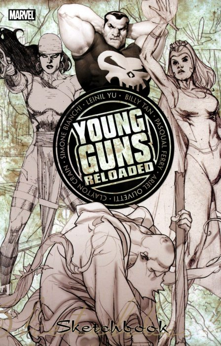 Young Guns - Reloaded Sketchbook