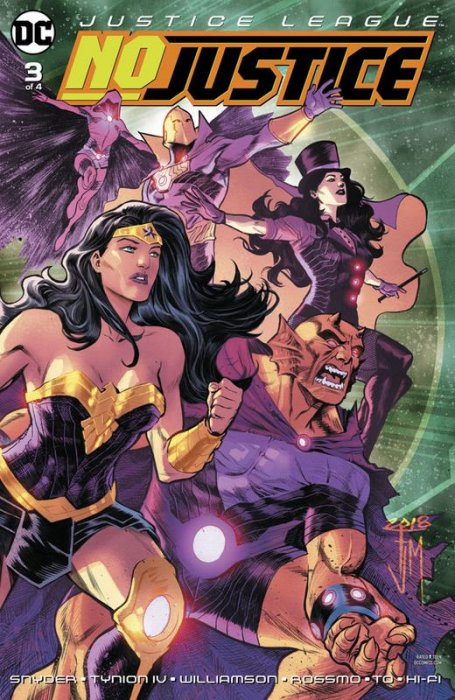 Justice League - No Justice #3