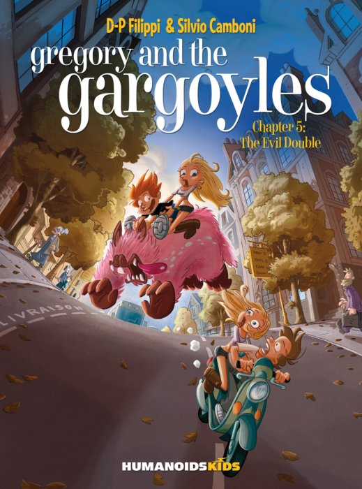 Gregory and the Gargoyles #5-7 Copmlete