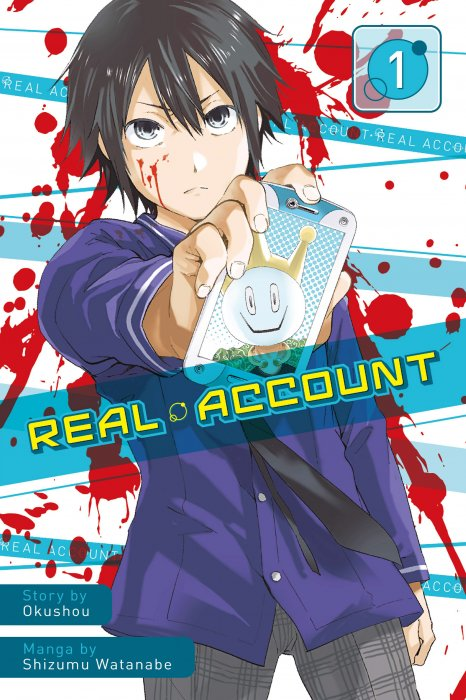 Real Account Vol.1-8 Complete