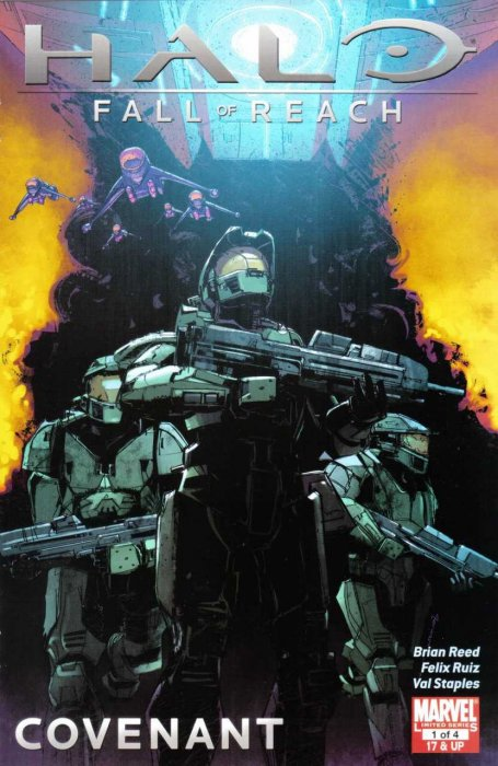 Halo - Fall of Reach - Covenant #1-4 Complete