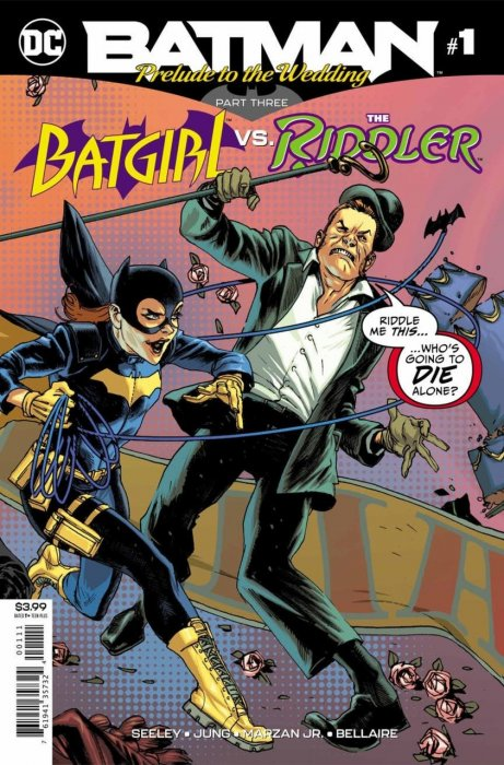 Batman - Prelude to the Wedding - Batgirl vs Riddler #1