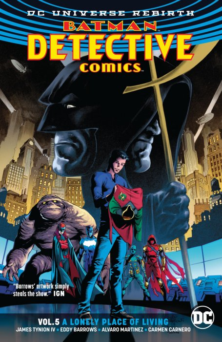 Batman - Detective Comics Vol.5 - A Lonely Place of Living