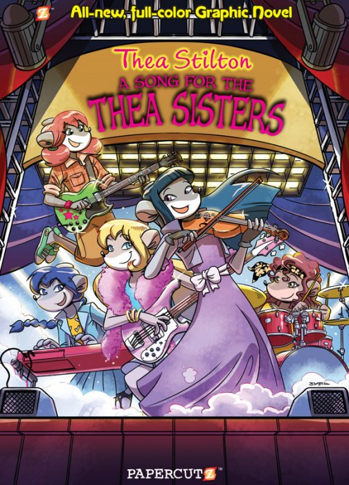Thea Stilton Vol.7 - A Song For The Thea Sisters