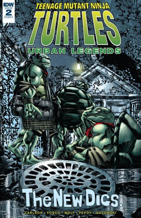 Teenage Mutant Ninja Turtles - Urban Legends #2