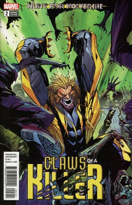 Hunt for Wolverine - The Claws of a Killer #2