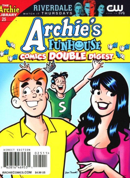 Archie's Funhouse Comics Double Digest #25-28 Complete