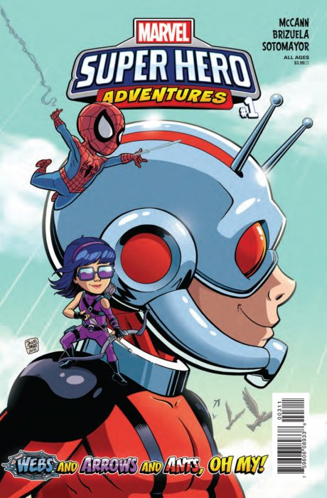 Marvel Super Hero Adventures - Webs and Arrows and Ants - Oh My! #1